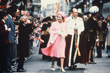 Queen Elizabeth Ii and Prince Philip at St Pauls Cathedral 1977