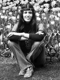 Rita Coolidge  in Regents Park  London  5th May 1971