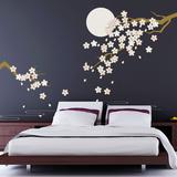 Cherry Blossom Under Moonlight
