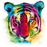 Tiger Pop Reproduction d'art par Patrice Murciano