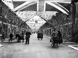 Street Party for Coronation of Queen Elizabeth Ii