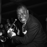 Louis Armstrong Performing in London  1956