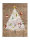 Christmas Joy on Burlap II