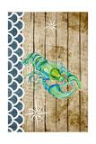 Planked Sealife I Reproduction d'art par Julie DeRice