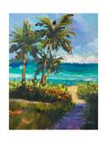 Caribbean View II Giclée premium par Jane Slivka