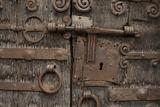Portal of Romanesque Church of Saint-Saturnin  Boule-D'Amont  Languedoc-Roussillon  France