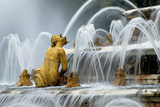 Fountain at Chateau De Versailles  France