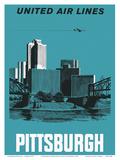 Pittsburgh  Pennsylvania USA - United Air Lines