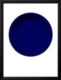 Blue Disk, c.1957 (IKB54) Reproduction encadrée par Yves Klein