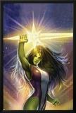 She-Hulk: Cosmic Collision No1 Cover: She-Hulk