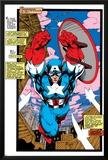 Uncanny X-Men No268 Cover: Captain America