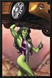 She-Hulk No2 Cover: She-Hulk