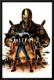 Captain America No16 Cover: Captain America  Crossbones and Sin
