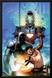 Iron Man: Requiem One Shot Cover: Stark and Tony