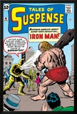 Tales Of Suspense: Iron Man No42 Cover: Iron Man and Gargantus