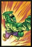 Marvel Adventures Hulk No3 Cover: Hulk