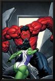 King Size Hulk No1 Cover: She-Hulk and Rulk