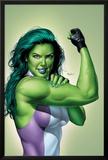 She-Hulk No9 Cover: She-Hulk