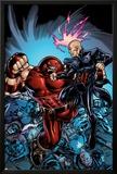New Excalibur No3 Cover: Juggernaut and Professor X