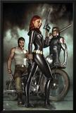 Black Widow: Deadly Origins No1 Cover: Black Widow  Bucky and Wolverine