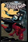 The Amazing Spider-Man No577 Cover: Spider-Man and Punisher