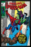 The Amazing Spider-Man No97 Cover: Spider-Man and Green Goblin
