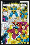 Infinity Gauntlet No6 Group: Thanos  Hulk  Thor and Dr Strange