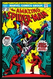 The Amazing Spider-Man No136 Cover: Spider-Man and Green Goblin