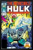 Incredible Hulk No337 Cover: Hulk  Cyclops  Grey  Jean  Iceman and X-Factor