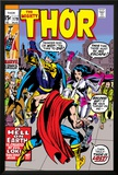 Thor No179 Cover: Thor  Balder and Sif