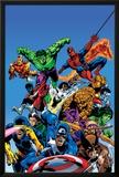 Secret Wars Cover: Captain America