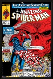 Amazing Spider-Man No325 Cover: Spider-Man and Red Skull