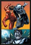 Daredevil Vs Punisher No4 Cover: Daredevil and Punisher