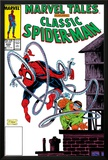 Marvel Tales: Spider-Man No224 Cover: Spider-Man and Doctor Octopus Charging