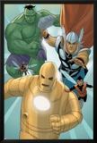 Avengers: The Origin No5: Iron Man  Thor  Hulk  Wasp  Ant-Man