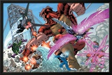New Thunderbolts No2 Group: Atlas  Mach IV  Songbird  Wrecking Crew and New Thunderbolts