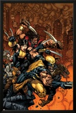 X-Factor No26 Cover: Wolverine and X-23