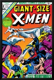 Giant-Size X-Men No2 Cover: Sentinel  Cyclops  Iceman  Angel and Beast