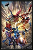 Avengers No121 Cover: Captain America  Hawkeye  Wolverine  Spider-Man  Iron Man  and Others