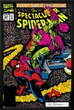 Spectacular Spider-Man No200 Cover: Spider-Man and Green Goblin
