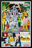 X-Men Annual No10 Group: Warlock  Sunspot  Cannonball  Cypher  Magma  Magik and New Mutants