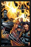 Ultimate X-Men No50 Cover: Colossus  Wolverine  Nightcrawler  Grey  Jean  Cyclops  Storm and X-Men