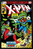 Uncanny X-Men Annual No4 Cover: Dr Strange  Colossus  Storm and Wolverine