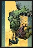 Ultimate Wolverine vs Hulk No6 Cover: Hulk and Wolverine