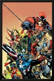 I am an Avenger No1 Cover: Captain America  Thor  Wolverine  Hulk  Ant-Man  Vision  and Iron Man