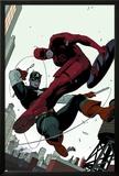Daredevil No2 Cover: Daredevil and Captain America Fighting