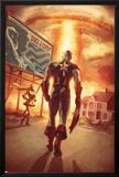 Captain America: Patriot No4 Cover: Captain America Walking