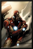 Invincible Iron Man No33 Cover: Iron Man Standing