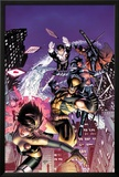 Astonishing X-Men No48 Cover: Karma  Wolverine  Iceman  Northstar  Gambit  and Warbird