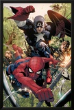 Avenging Spider-Man No5: Spider-Man and Captain America